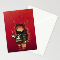 lazy holidays Stationery Cards