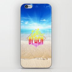 Life - beach iPhone & iPod Skin