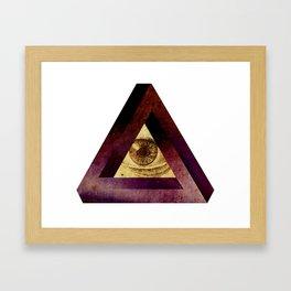 higheye Framed Art Print