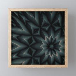 Facet Framed Mini Art Print