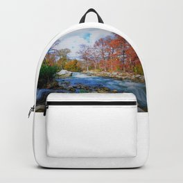 Guadalupe River, Texas Hill Country  Backpack