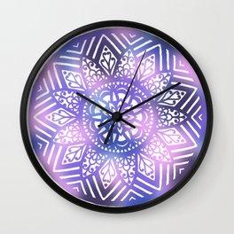 Dreamscape Mandala - LaurensColour Wall Clock