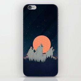 Howling Moon iPhone Skin