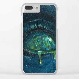 When the Universe Cries Clear iPhone Case