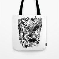 plants Tote Bags featuring Plants by Bridie Cheeseman