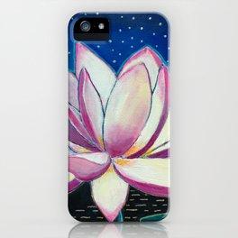 Night Lotus iPhone Case