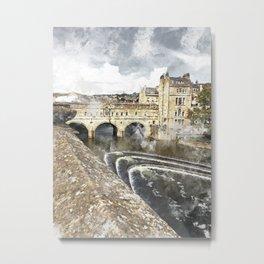 Bath England Metal Print