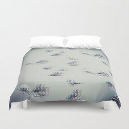 Birds, birds, birds... Duvet Cover