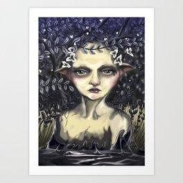 Ninfa (Nymph) Art Print