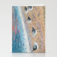 dune Stationery Cards featuring Dune Birds by Ann Marie Coolick