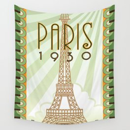 Paris 1930 Wall Tapestry