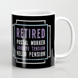 Retired Postal Worker Coffee Mug