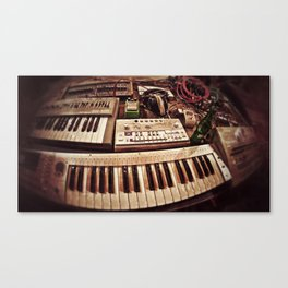 This Is Techno - Part 2 Canvas Print