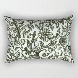 Garden of Relief and Affliction Rectangular Pillow