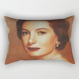 Deborah Kerr, Hollywood Legend Rectangular Pillow