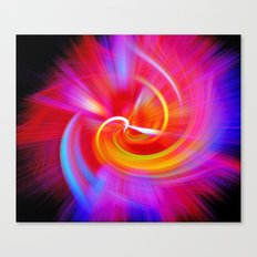 Inside the Flame Canvas Print