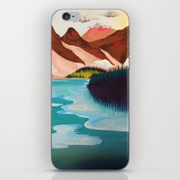 outdoor iPhone & iPod Skins featuring Outdoor by salauliamusu