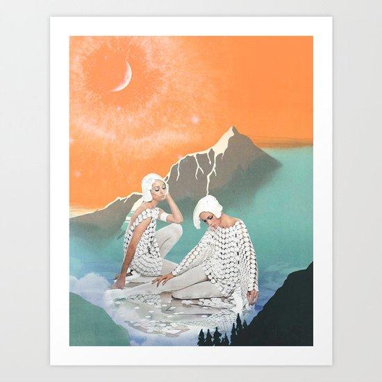 The Reflection Pool Art Print