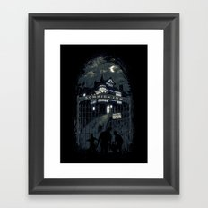 Zombies Inn Framed Art Print