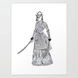 Samurai 2 Art Print