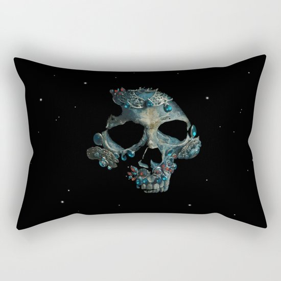 Holy Starman Skull Rectangular Pillow