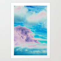 cloud Art Prints featuring Cloud by Amy Sia
