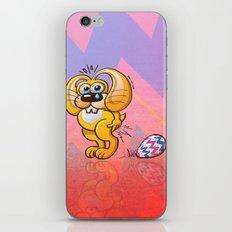 Painful Easter Bunny Job iPhone & iPod Skin