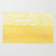 Abstract yellow Rug