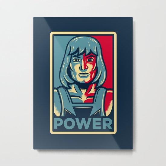 Power....he has it! Metal Print