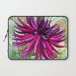 Deep Ruby Dahlia Laptop Sleeve