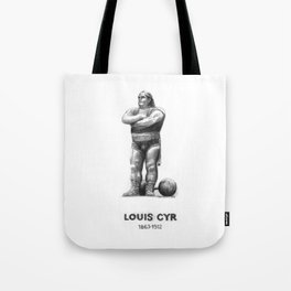 Montreal's Louis Cyr Tote Bag