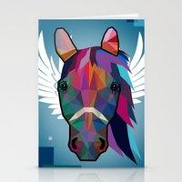 horse Stationery Cards featuring horse  by mark ashkenazi