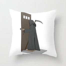 Dead Ringer Throw Pillow