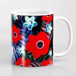 Poppies & Columbines Coffee Mug