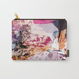 7: a vibrant abstract in jewel tones Carry-All Pouch