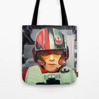 rebel Tote Bags featuring Rebel by Rabassa