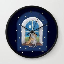 When the night falls Wall Clock