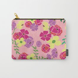 Bonny blooms Carry-All Pouch