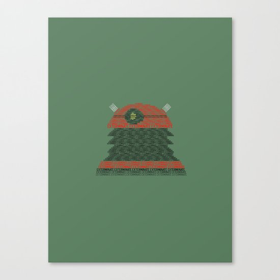 Exterminate (Doctor Who) Canvas Print