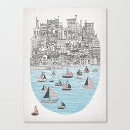 Joppa City of Refuge Canvas Print