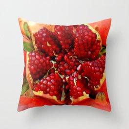 Pomegranate in Ephesus, Turkey Throw Pillow