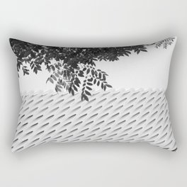 The Broad In the Afternoon Black & White Photography II Rectangular Pillow