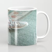 converse Mugs featuring Converse by Beatrice