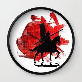 Japan Samurai Wall Clock