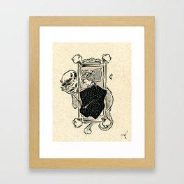 Dead Tired Framed Art Print