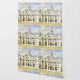 St. Peter's Basilica, Rome Italy Wallpaper