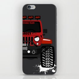 the_blessed_hellride iPhone Skin