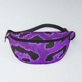 Purple Leopard Spots Fanny Pack