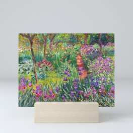 Claude Monet - The Iris Garden At Giverny Mini Art Print