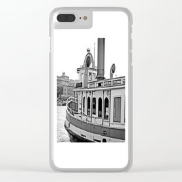 Savannah Steamboat Clear iPhone Case